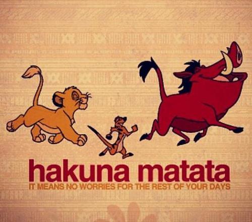 Hakuna Matata! Senza Pensieri?