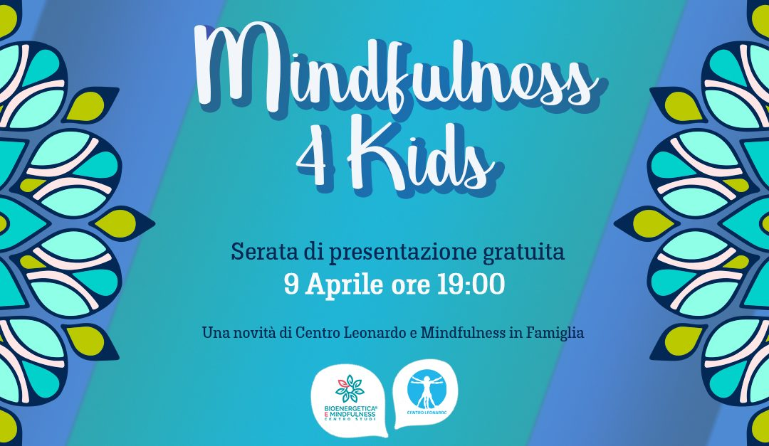 Serata presentazione programmi Mindfulness 4 Kids