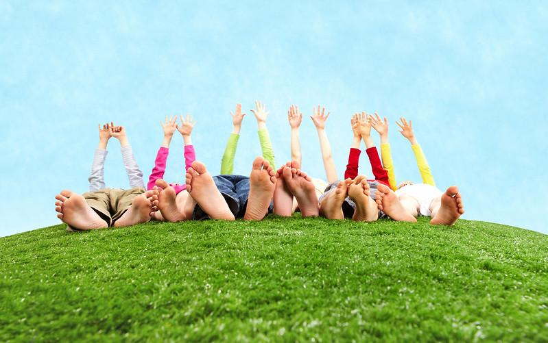 """Momenti di mindfulness in famiglia: il gioco """"come si sente il corpo?"""""""