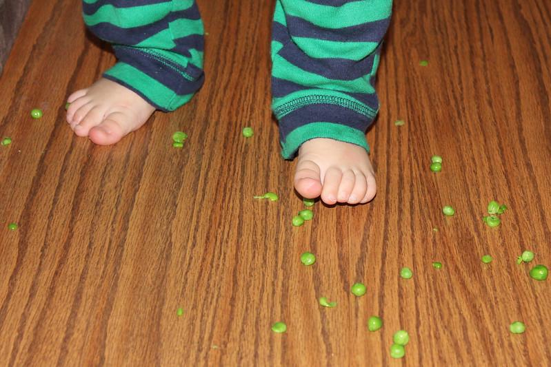 Momenti di mindfulness in famiglia: la storia di Teo e i piselli